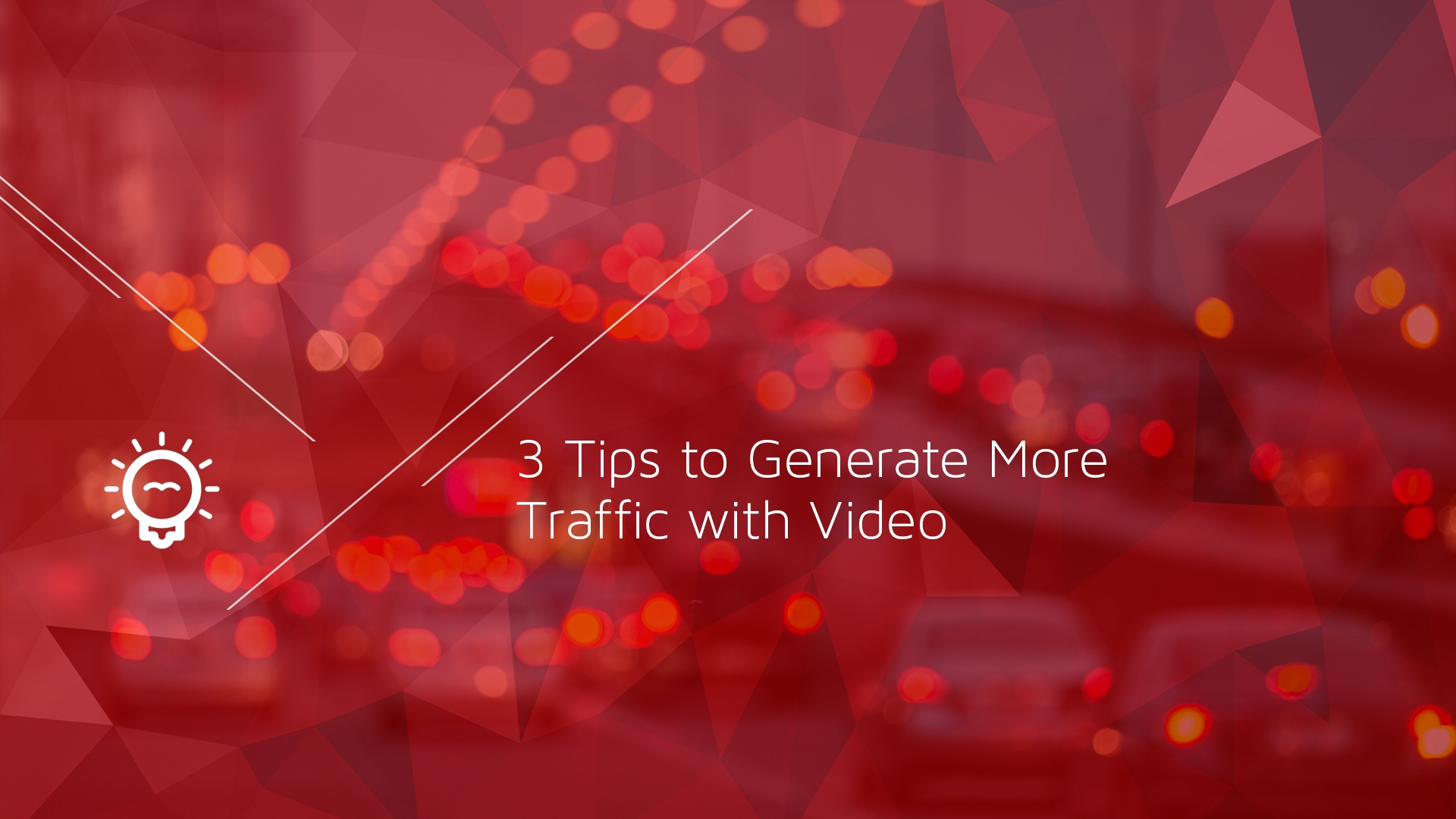 3 Tips to Generate More Web Traffic with Video