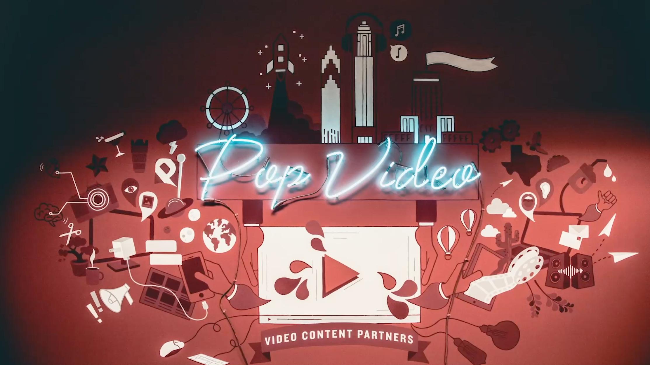 Pop Video Mural